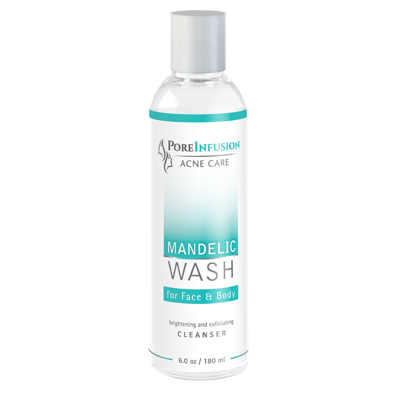 Adult acne face wash