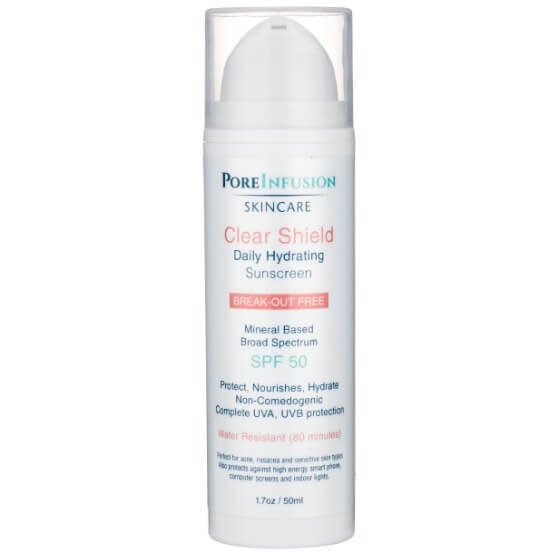 Poreinfusion Clear Shield Waterproof Sunscreen Spf50